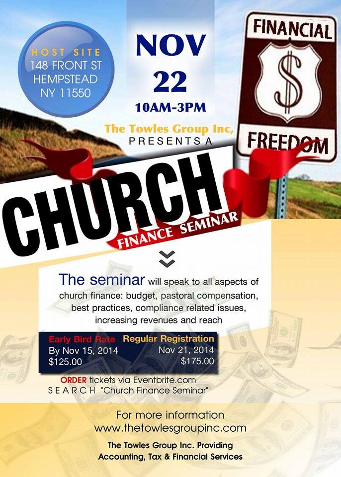 Church Finance Seminar